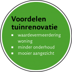tuinrenovatie